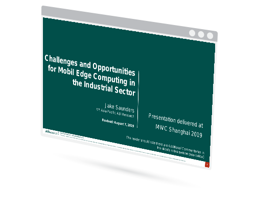 Challenges and Opportunities for Mobile Edge Computing in the Industrial Sector Image