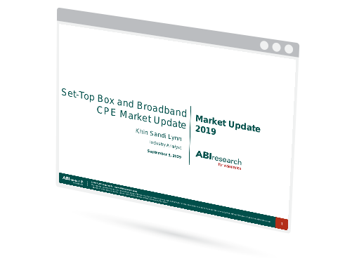 Set Top Box and Broadband CPE Market Update 2019 Image