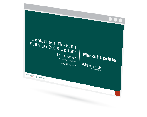 Contactless Ticketing Full Year 2018 Update Image