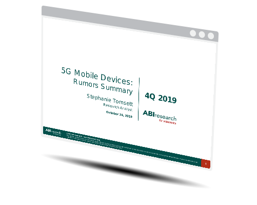 5G Mobile Devices: Rumors Summary - 4Q19 Image
