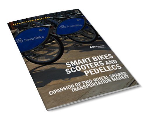 Smart Bikes, Scooters, and Pedelecs: Expansion of Two Wheel Shared Transportation Market Image