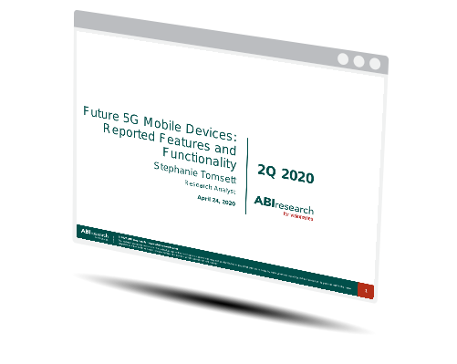 Future 5G Mobile Devices: Reported Features and Functionality Image