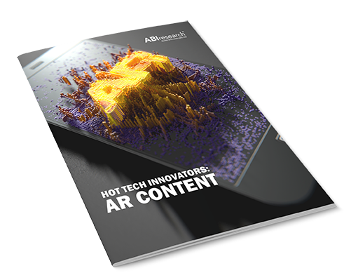 Hot Tech Innovators: AR Content Image