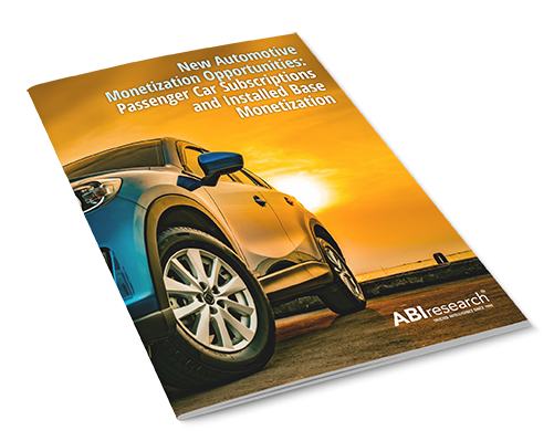 New Automotive Monetization Opportunities: Passenger Car Subscriptions and Installed Base Monetization Image