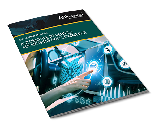 Automotive In-Vehicle Advertising and Commerce Image