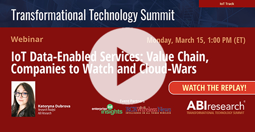 Transformational Technology Summit: IoT Data-Enabled Services Image