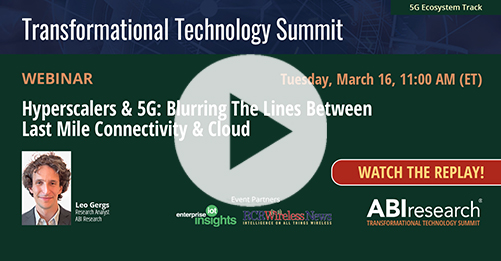 Transformational Technology Summit: Hyperscalers and 5G Image