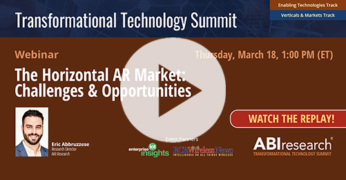 Transformational Technology Summit: The Horizontal AR Market Image
