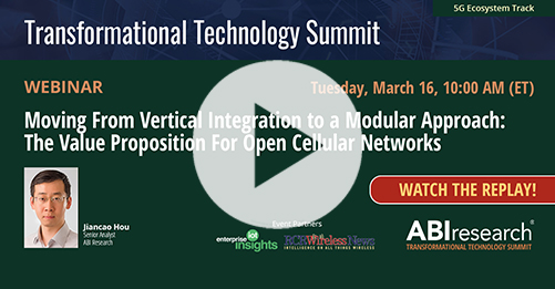 Transformational Technology Summit: The Value Proposition for Open Cellular Networks Image