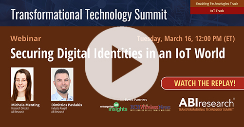 Transformational Technology Summit: Securing Digital Identities in an IoT World Image