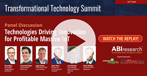 Transformational Technology Summit: Technologies Driving Innovation for Profitable Massive IoT Image