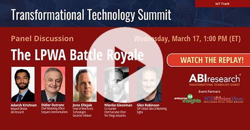 Transformational Technology Summit: The LPWA Battle Royale Image