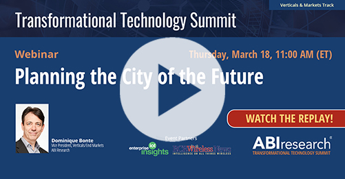 Transformational Technology Summit: Planning the City of the Future Image