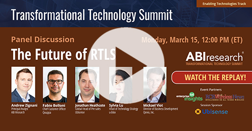 Transformational Technology Summit: The Future of RTLS Image
