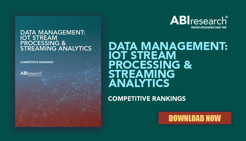 Guavus SQLstream Stands Out as Overall Leader in ABI Research's IoT Data Management Vendor Competitive Ranking